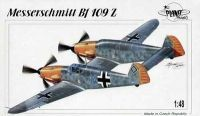 Messerschmitt Bf 109Z, with decals, 1/48 Resin Kit