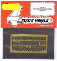 Ejector Seat Activators, Reheat Photoetched Parts, 1/48