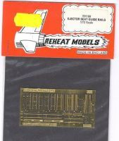 Ejector Seat Guide Rails, Reheat Photoetched Parts, 1/72