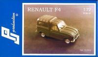Renault F4 Fourgonette, PJ-Productions, Resin Kit, 1/72