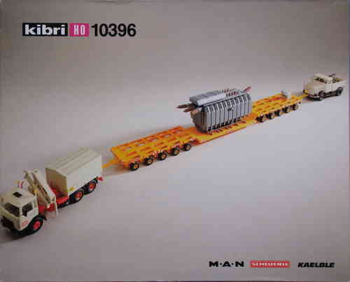 MAN/Scheuerle Heavy Lift Cargo Truck with Transformer, H0