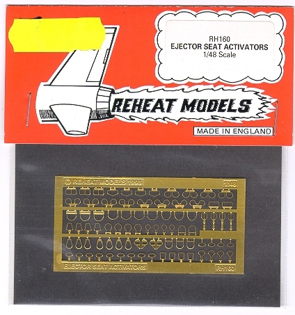 Ejector Seat Activators, Reheat Photoetched Parts, 1/32