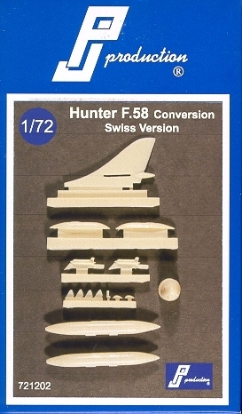 Hunter F.58, Resin Umbausatz, 1/72