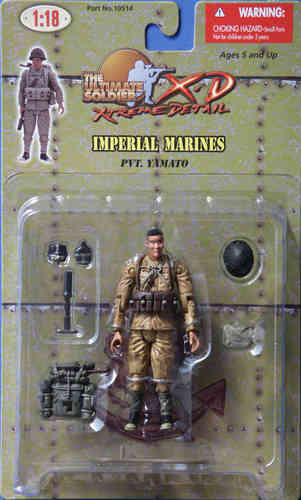 Jap. Imperial Marines, Pvt. Yamato,1/18