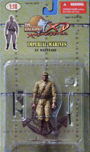 Jap. Imperial Marines, Lt. Watanabe, 1/18