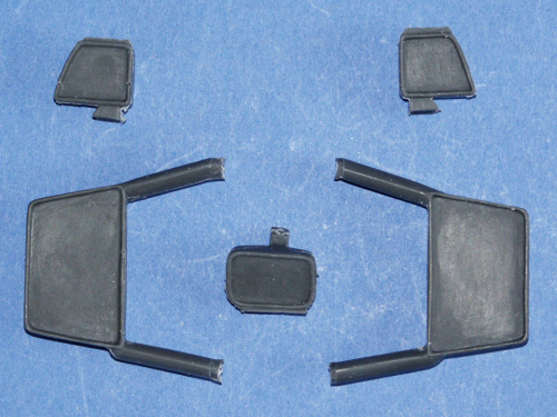 Exterior Mirrors Set, for Truck Models, 1/14