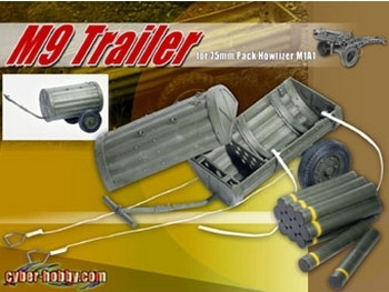 M9 Trailer mit Munition, 1/6