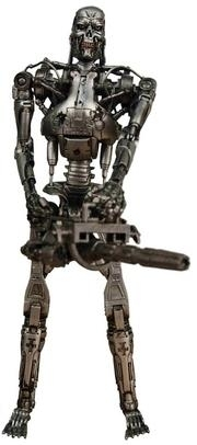 T-800 Endoskeleton - Terminator 2 - Judgement Day, Battle Damaged, 1/10 Sammlerfigur