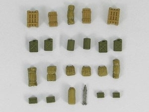 U.S. ARMY WWII Baggage and Accessories, 1/72