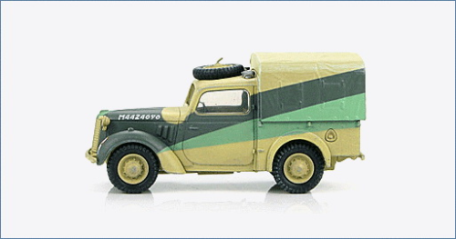 "British Light Utility Car ""Tilly"" M4424696, Nordafrika, 1/48"