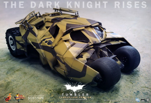 "Tumbler in Camouflage Look, ""The Dark Knight Rises"", 1/6 Collectible"