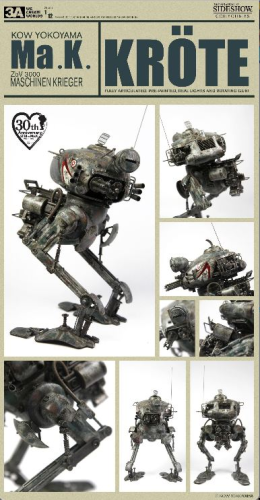 Krote, Ma.K - Maschinen Krieger, 1/12 Collectible Figure