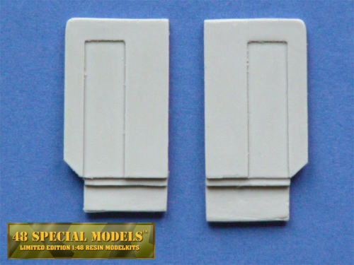 Spoiler Extention for Scania Trucks, fits Tamiya model 1/14