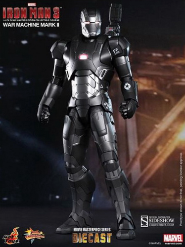 IRON MAN 3 - War Machine MK II, Diecast Limited Edition, 1/6 Sammlerfigur