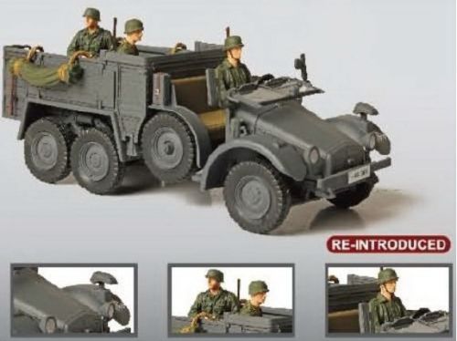 Krupp Protze, German Kfz.70 Personnel Carrier, Eastern Front 1941, 1/32