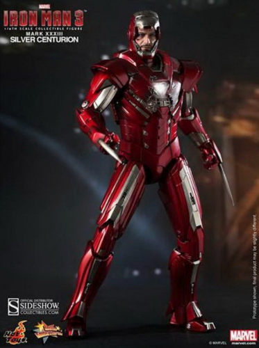 IRON MAN 3 - Silver Centurion Mk.33, 1/6 Collectible