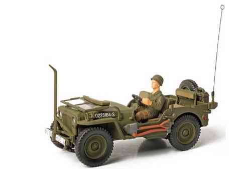 Willys Jeep, U.S. General Purpose Vehicle (GP), Normandie 1944, 1/32