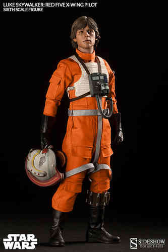 Luke Skywalker - Red Five X-Wing Pilot, Star Wars Episode IV, 1/6 Collectible