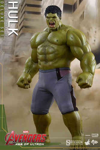 Hulk - Deluxe Set, Avengers - Age of Ultron, 1/6 Collectible