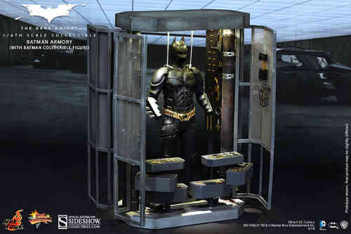 Batman Armory with Alfred Pennyworth, The Dark Knight, 1/6 Collectible