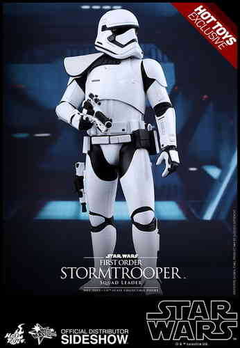 First Order Stormtrooper Squad Leader, Star Wars - The Force Awakens, 1/6 Collectible