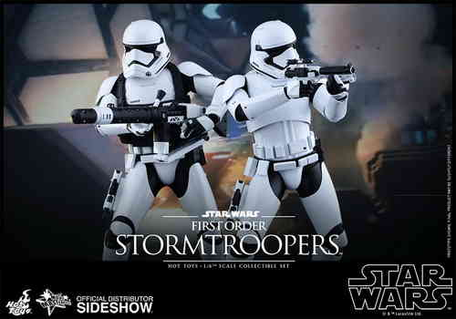 First Order Stormtroopers Set, Star Wars - The Force Awakens, 1/6 Collectible