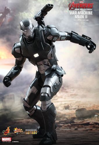 War Machine Mark II, Avengers - Age of Ultron DieCast 1/6 Sammlerfigur