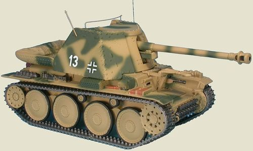 Marder III, Ausf. H  9. Pz. Div. Operation Citadel, Kursk, Russia July 1943, 1/48 Collectible