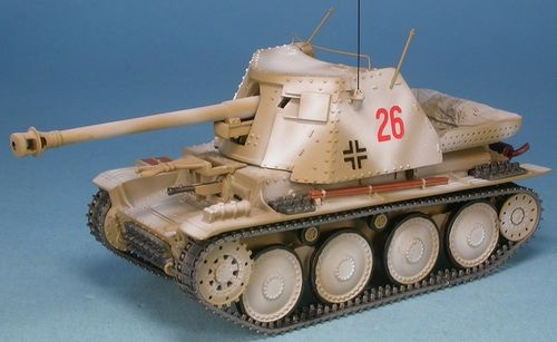 "Marder III, Ausf. H, 1th Pz.Gren.Div. ""LAH"", Kharkov 1943, 1/48 Collectible"