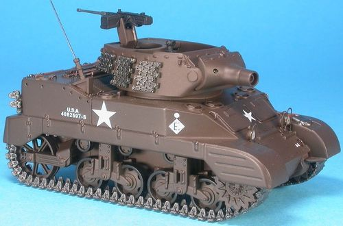 M8 Scott 75 mm Howitzer, 12th US Armored Div., France, Alsace, January 1945, 1/48 Collectible
