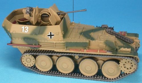 Flakpanzer 38(t) Gepard, Ausf. M, m. 20mm Flak,12.SS-Pz.-Div. HJ, Normandy 1944,1/48 Collectible
