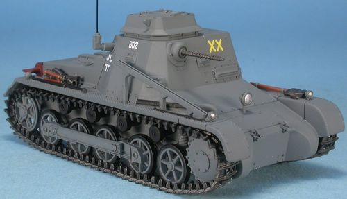 Pz I-Befehlswagen, Ausf. B, 8. Pz.Div., Operation Barbarossa, Russia, June 1941, 1/48 Collectible