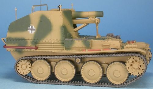 Sturmpanzer 38(t) Ausf. M, Grille, Sd.Kfz.138/1, Budapest, Hungaria 1945, 1/48 Collectible