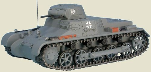 Panzer I, Pz.Kpfw.I Ausf. B, Sd.Kfz.101, W-SS Lst A.H.Rgt., France, June 1940, 1/48 Collectible