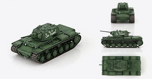KV-1 Model 1941, unknown unit, Stalingrad area, 1942, 1/72