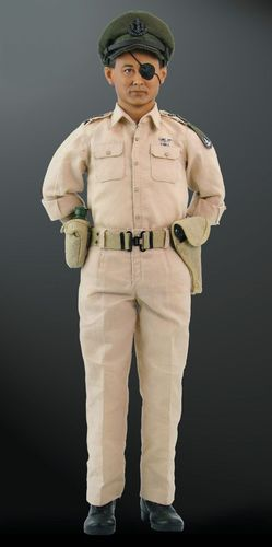 Moshe Dayan, IDF Chief of Staff, 1/6 collectible