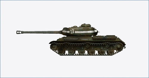JS-2 Russian Heavy Tank, 88th Ind. G.H.Tank Brgd., Rote Armee, 1945