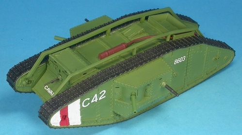 Mark IV Male british WWI Tank, 1/48