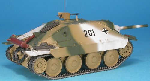 Jagdpanzer 38(t) Hetzer Version Winter Camo, 1/48 Collectible