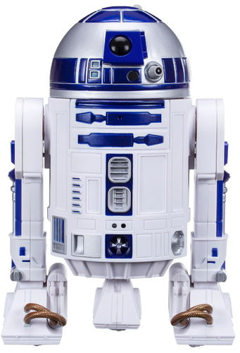 Star Wars Smart R2-D2, Blootooth smartphone control, programmable, scale 1/4