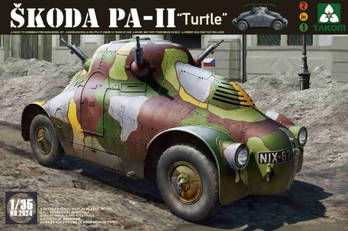 "Skoda PA-II ""Turtel"", 2 in 1 Plastic Kit, 1/35"