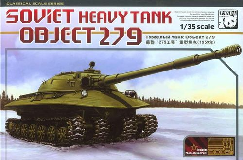 Object 279, Soviet Heavy Tank, Plastic Kit, 1/35