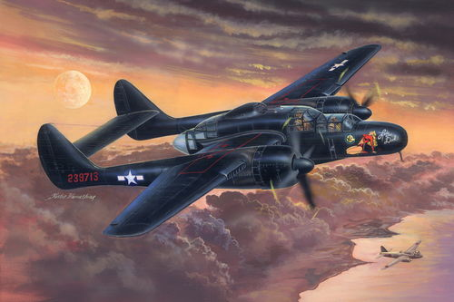 P-61B Black Widow, 1/32 Plastikbausatz