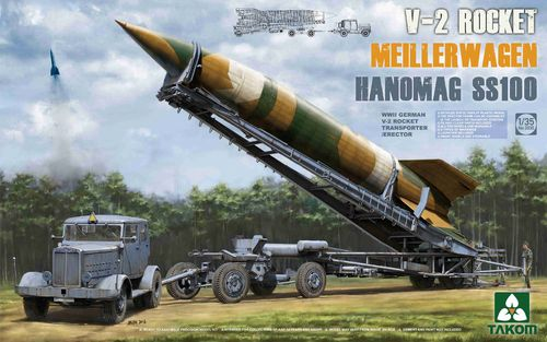 V-2 Rocket on Meillerwagen with Hanomag SS100 Truck, Plastic Kit, 1/35