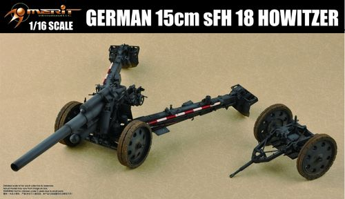 "15cm sFH 18 Howitzer ""Immergrün"", 1/16 Scale Plastic Model Kit"