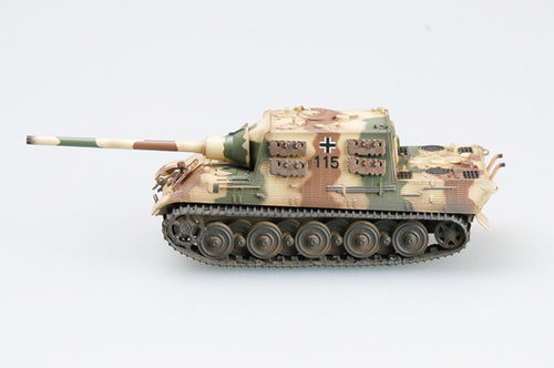 Jagdtiger (Henschel), s.Pz.Jag.Abt.653, Tank No.115, 1/72 Collectible