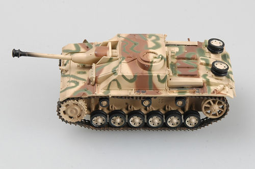 Stug III Ausf.G, (three color camo), Russia 1944, 1/72 Collectible