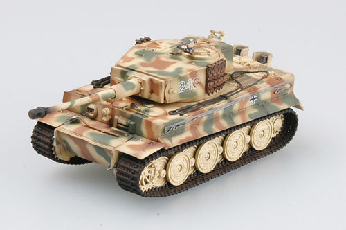 Tiger I (late Vers.) Schwere SS Pz.Abt.102, 1944, Normandy, Tiger-No. 242, 1/72 Collectible