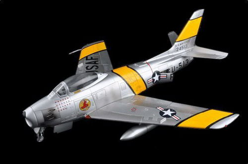 "F-86F Sabre USAF ""Major Jabara"", 1/18 Collectible"