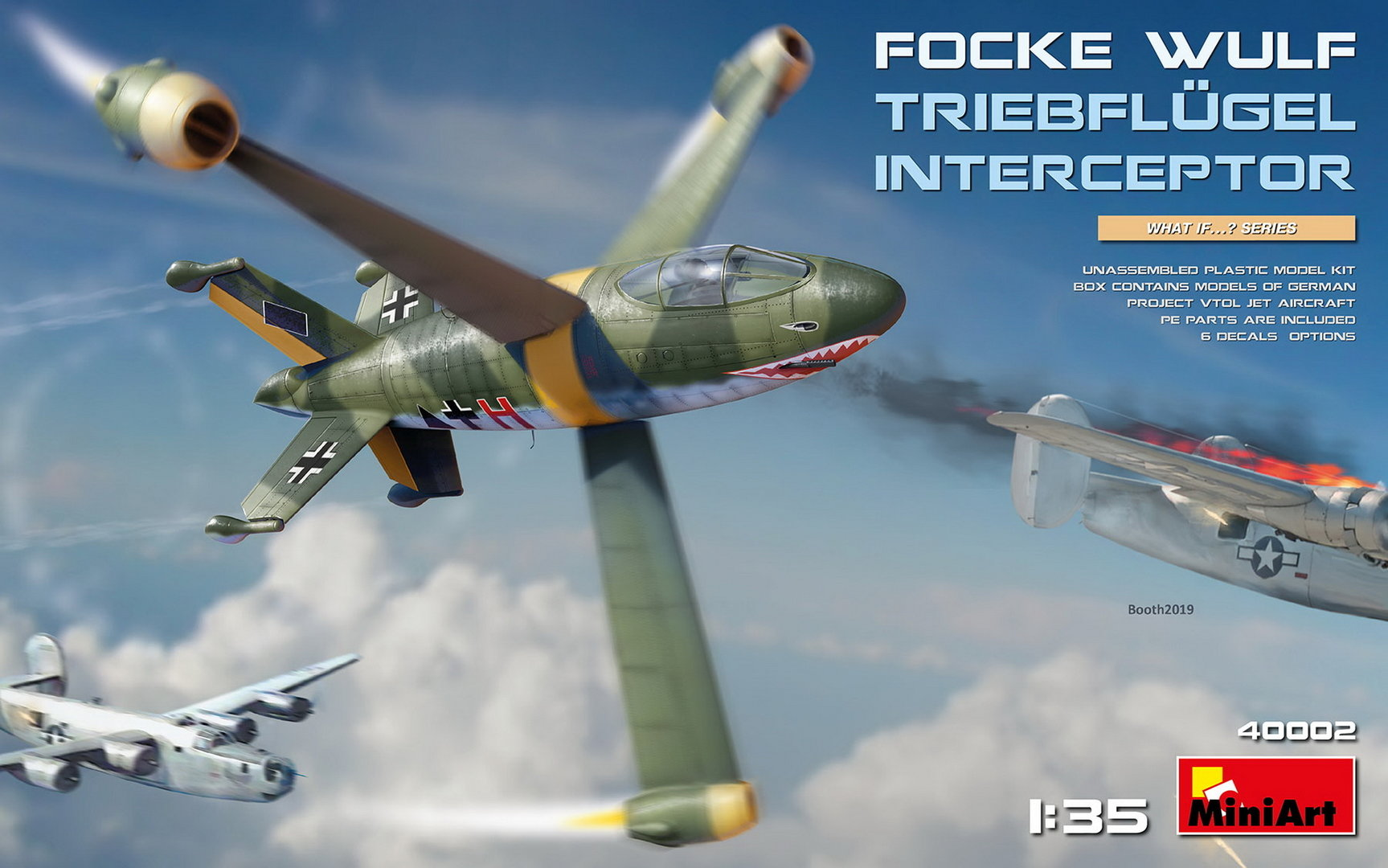 Focke Wulf Triebflügel, German Interceptor Project, 1/35 Plastic Kit